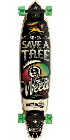 Sector 9 R.A.W. Longboard Skateboard Complete. Sector 9's new R.A.W. board is…