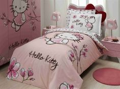 Pink Hello Kitty for your little ones room!