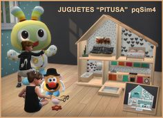 "Lana CC Finds - Toddler Bedroom ""Pitusa"" P.2 by pqSim4"