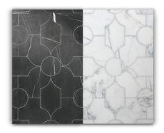 My Notting Hill: Tile as Art New Ravenna, Outdoor Tiles, Design Blog, Tile Patterns, Kids Rugs, Flooring, Black And White, Stone, Notting Hill