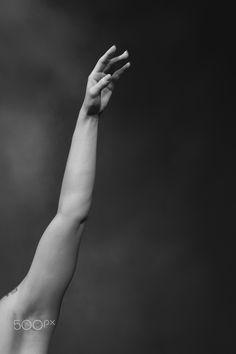 Women's hands - Ballet dancer's hand.