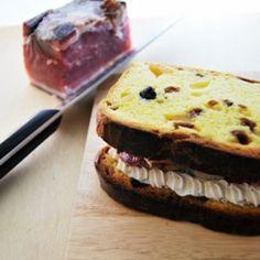 Sandwich di panettone
