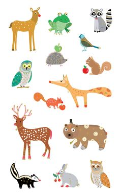 Turnowsky Wondrous Woodland Animals