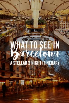 What to See in Barcelona A Stellar 3 Night Itinerary Boasting an unrivalled nightlife scene that includes an extensive list of trendy cocktail bars, world-class clubs, and a variety of other entertainment options, partygoers are sure to find some legendary late-night revelry that appeals to all types of travellers. With this, it can prove to be a challenge in the search for the best spots to indulge in.