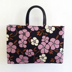 ZStitch, Vintage inspired handmade handbags in Woodstock Retro Fabric, Handmade Handbags, Fabric Bags, Woodstock, Vintage Inspired, Range, Tote Bag, Inspiration, Handmade Bags