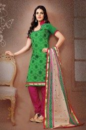 Awesome Green Color Salwar Suit