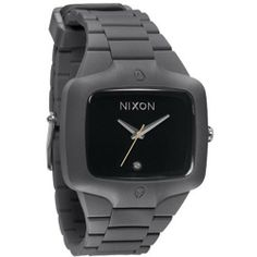 Nixon Rubber Player Grey Black Mens Watch A139195 NIXON. $122.28. Brand:Nixon. Band color: gray. Condition:brand new with tags. Dial color: black. Model: A139195. Save 30% Off!