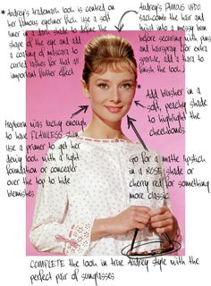Audrey beauty tips