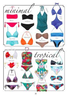 summer #swimwear to choose from - more on www.BellaMagazine.eu