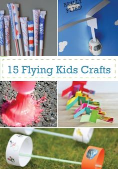 Check out these high flying DIY summer crafts for kids.