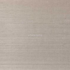 Silver Wheat Grasscloth Wallpaper