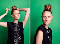 Gorgeous Top Knot Hairstyles to Try  #hairstyles #topknot