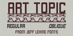 Art Topic JNL font download