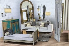 Spring4Sims » New Living Room by Exotic Elements 3