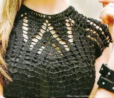 Graficos y Crochet: Vestido Colección Circulo Moda