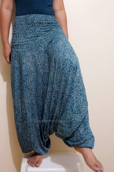 Graphic Spiral Shell Harem Pants Boho Hippy by thaihippieboho, $20.00 Thai Harem Pants, Thailand Fashion, Hippy, Heavenly, Hippie Boho, Spiral, Shell, Trending Outfits, Clothes