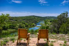Inspiration Point and the beautiful Guadalupe River, Mo-Ranch, Hunt, TX #TXHillCountry