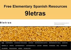 Elementary Spanish printables by 9letras. Extensive collection of free activities and worksheets for teaching Spanish to kids. Downloadable Word documents.