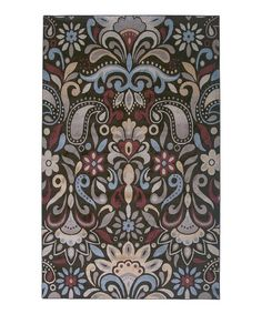 This Brown Traditional Rug by Rizzy Home is perfect! #zulilyfinds