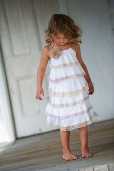 Ruffled pillow case dress. A.dor.a.ble.