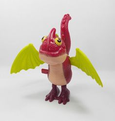 How To Train Your Dragon - Baby Scuttleclaws - Toy Figure - Cake Topper (1)