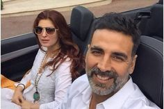 Akshay Kumar posts a selfie with Twinkle
