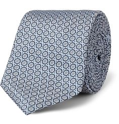 Dolce & GabbanaPatterned Woven-Silk Tie|MR PORTER