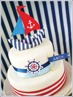 someone please have a nautical themed party so i can plan it and then provide this cake for you! can-you-say-perfect-for-a-party