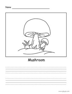 Easy Drawings, Your Child, Stuffed Mushrooms, Animation, Learning, Words, Children, Simple, Beautiful