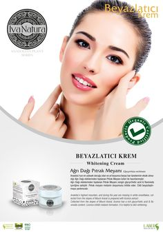 organic whitening cream from Ağrı mountain