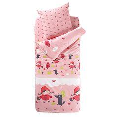 "Conjunto com edredon ""pronto a dormir"", motivo lili cereja La Redoute Interieurs | La Redoute"