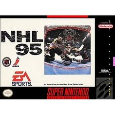 NHL 95 for SNES