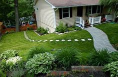 DIY backyard landscaping ideas on a budget... By the road?