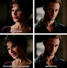the tall eric northman - true blood.  Her character annoyed me a little...  5.2