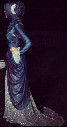 #HIjab Elegent Gown.
