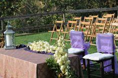 Detalle boda en el jardín EL NUS DE PEDRA.