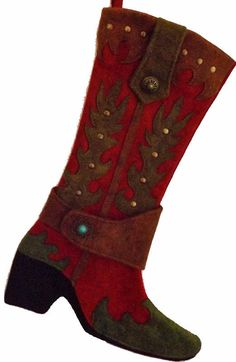 Cowboy Boot Stocking - Range Rider -Featured by Food Network Magazine