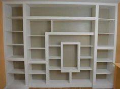 Tutorial pour fabriquer une bibliothèque en placo et bois