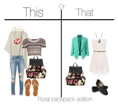 This or That by taste-by-teenz on Polyvore featuring Boohoo, Aéropostale, Steve Madden, Amrita Singh, Kiel Mead Studio, TOMS and plus size clothing