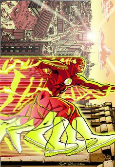 The Flash Secret Files! by ~KolinsArt on deviantART