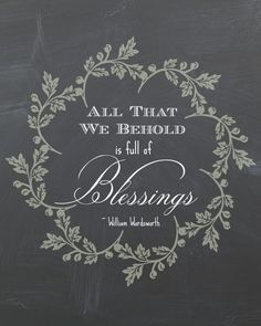"Free Printable: ""All That We Behold"" 