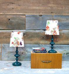 make custom lamp shades! nice