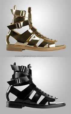 not for everyone, but I love them. Givenchy Spring Summer 2010
