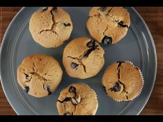 Yaban Mersinli Muffin   İdil Tatari Easy Cake Recipes, Muffin Recipes, Blue Berry Muffins, Food Videos, Blueberry, Cupcake, Treats, Cookies, Breakfast