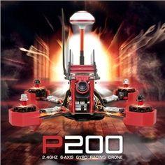 245.99$  Buy now - http://ali2u8.shopchina.info/1/go.php?t=32778909827 - JJRC JJPRO-P200 5.8G 48CH 600mW 800TVL Camera Skyline32 FPV Racer Quadcopter RTF 2.4GHz  #magazine
