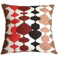 Pillow Decor Lava Lamp Red 20x20 Throw Pillow