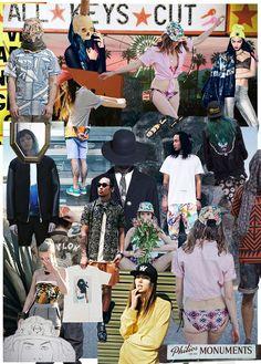THRLD Monthly Recap: April Art collages by Juliette van Oorschot - THRLD • Online magazine voor fashion, art  & music #collage #moodboard #mashup #kaleidoscope