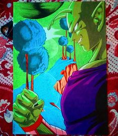 #dragonballz #drawing #dragonballsuper #dragonball #piccolo #namek #artistsworld #artfeatbytom #art #art_anidrawindo #art_help #anime… Ball Drawing, Dragon Ball Z, Mario, Anime, Drawings, Instagram, Artists, Dragon Dall Z, Cartoon Movies