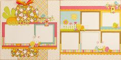 Hippity Hoppity Easter two page layout (Large) - use with Hopping By, maybe Blossom?