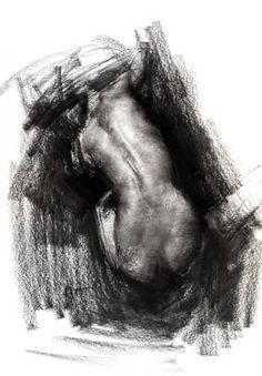 "Saatchi Art Artist Zin Lim; Drawing, ""Figure#D203"" #art"